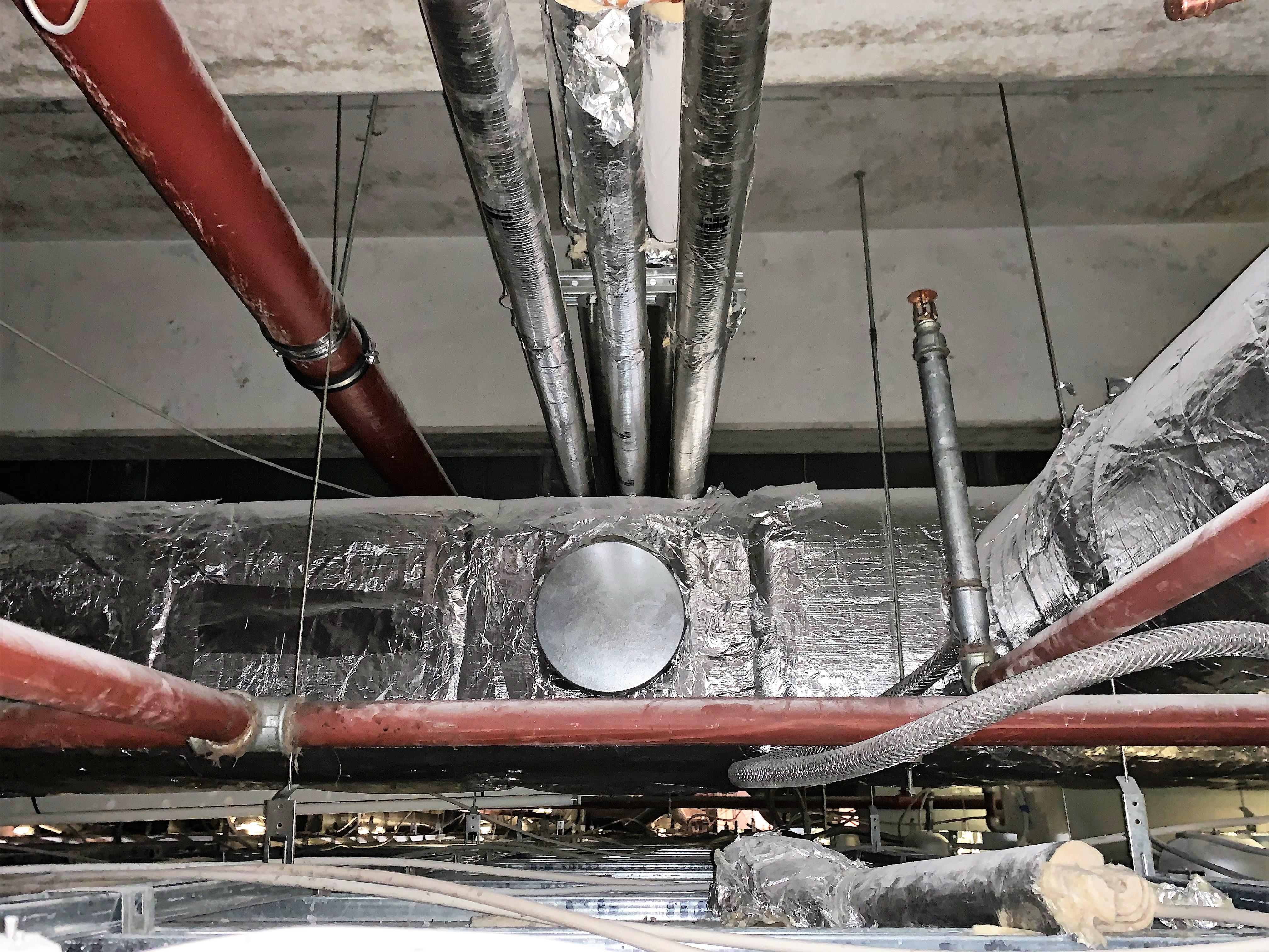 Gedämmte Rohrleitungen